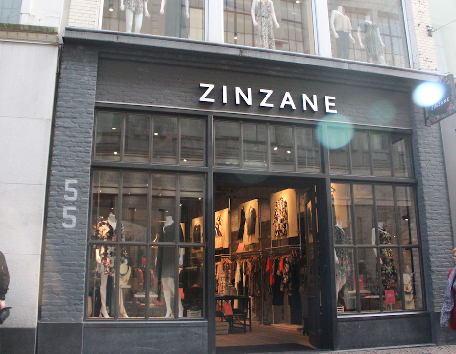 Zinzane pop-up store
