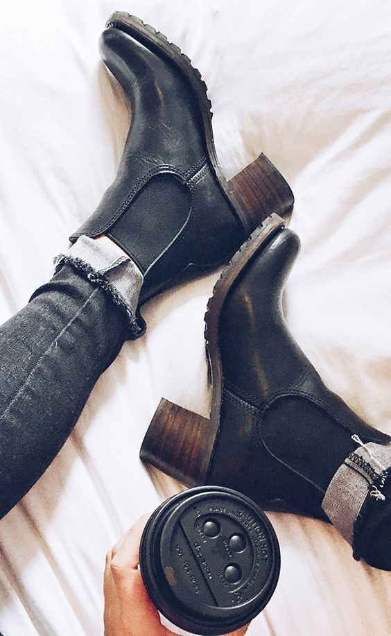 De perfecte herfst/winter boots!
