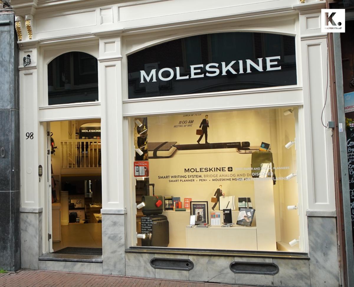 Officiële opening: Moleskine! Welkom to the Kalverstraat