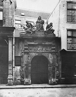 Kalvertoren in 1896!