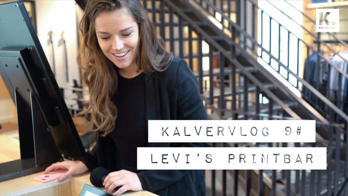 Kalvervlog: Levi's T-shirt Print Bar!