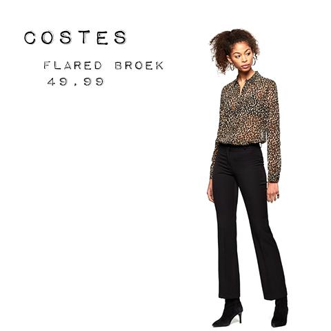 Flared broek