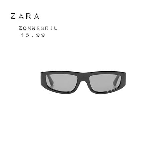 Zara futuristische zonnebril