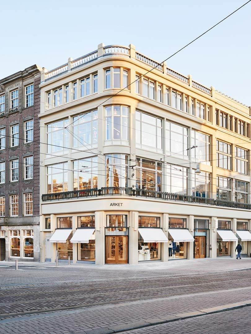 Vandaag opent het nieuwste H&M-merk Arket in Amsterdam