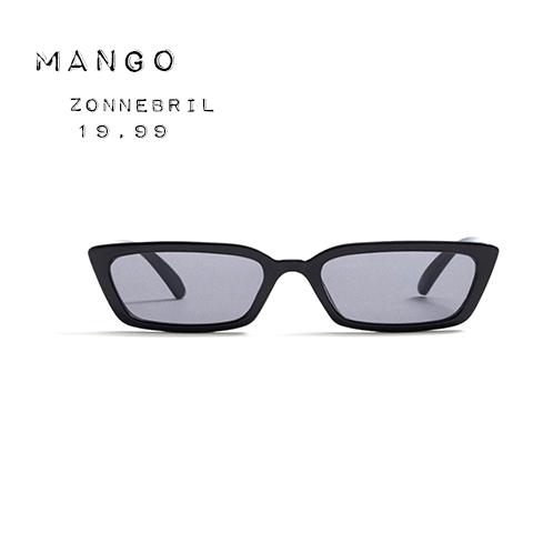 Mango futuristische zonnebril