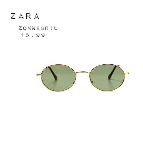 Zara ovale zonnebril
