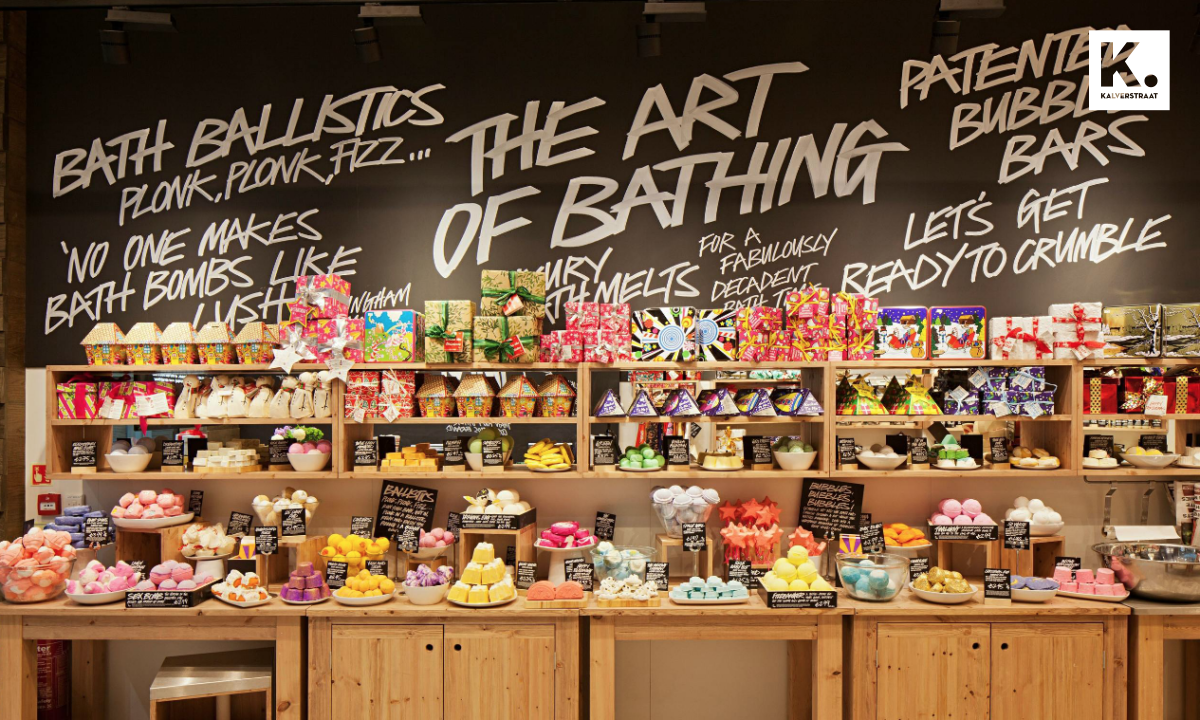 Lush is genomineerd voor de ABN AMRO Retail Sustainability Award